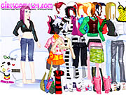 Click to Play Casual Girl Dressup