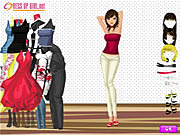 Click to Play Charming Girl Dressup