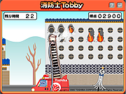 Click to Play Fireman Tobby