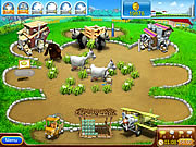 Click to Play Farm Frenzy Pizza Party