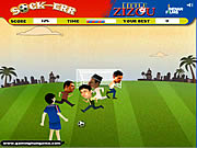 Click to Play Little Zizou Sock-Err