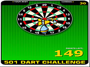 Click to Play 501 Dart Challenge