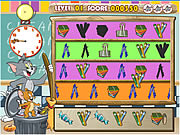 Click to Play Tom And Jerry Classroom Clean Up
