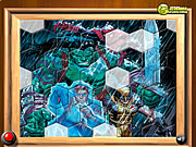 Click to Play Hulk With Friends -  Fix My Tiles