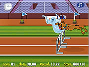 Click to Play Scooby Doo Hurdle Race