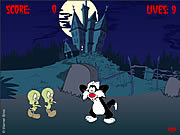 Click to Play Attack of the Tweety Zombies