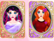 Click to Play Beautiful Princesses Find a Pair