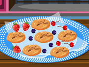 Click to Play Chocolate Walnut Cookies