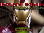 Click to Play Iron Man Find the Alphabets