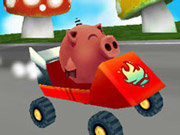 Click to Play Krazy Karts 3D