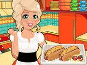 Click to Play Mia Cooking Chili Cheese Hot Dogs
