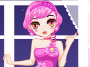 Click to Play Pink Party Dress Up