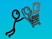 Click to Play Shopping Cart Hero